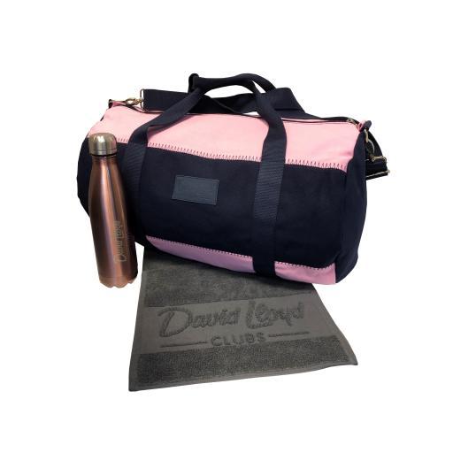 David Lloyd Duffle Bag starter pack